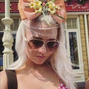 Disney Tiki Room Minnie ears bow interchangeable